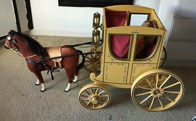 american girl colonial felicity elizabeth carriage and horse christmas collector