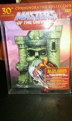MASTERS OF THE UNIVERSE 30TH Anniversity Commemorative Collection 3D 1982-2012
