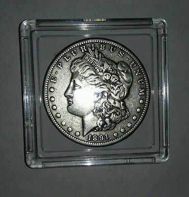 1891 $1 Morgan Silver Dollar Extra Fine Details - Better Date