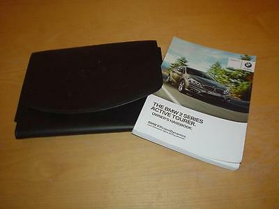 BMW 2 SERIES F45 216 218 220 225 i d ACTIVE TOURER Owners Handbook Manual Wallet