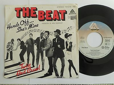 "THE BEAT Hands Off She´s Mine  7""  GERMAN ARISTA  1980"