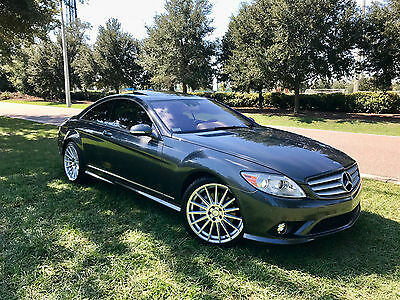 2008 Mercedes-Benz CL-Class V8 Rare CL550 AMG Sport Package Designo Graphite Fully Loaded No Reserve Low Miles