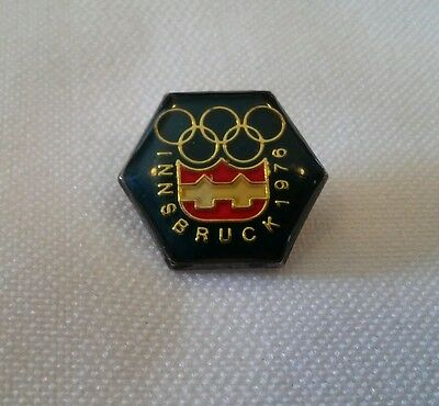 1976 Innsbruck Olympic Pin