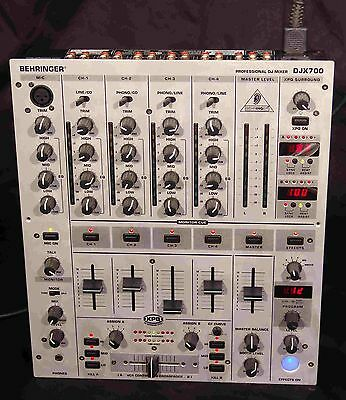 Behringer Djx700  5 Channel Professional Dj Mixer - Boxed