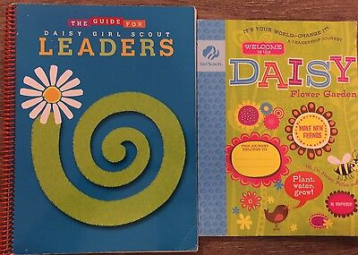 The Guide For Daisy Girl Scout Leaders And Daisy Workbook 2pc