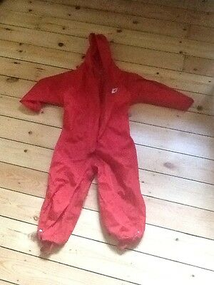Muddy Puddles Aged 3 to 4 waterproof suit