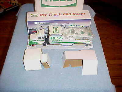 Vintage Hess Toy Truck And Racer 1988 Mib