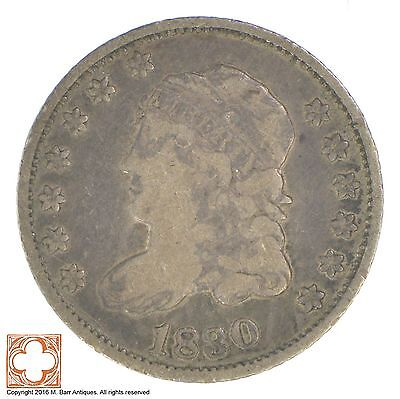 1830 Capped Bust Half Dime *1145
