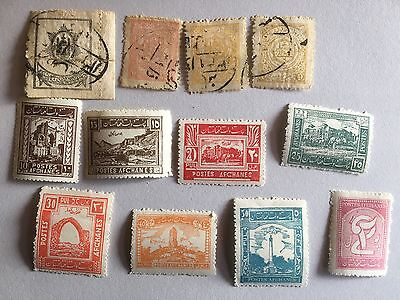 Afghanistan 1909-1928 Post Stamps Mint Used