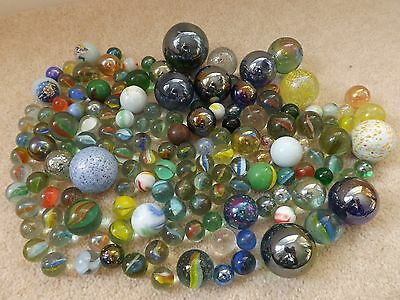 Job Lot / Collection Of Marbles - Some Vintage ?