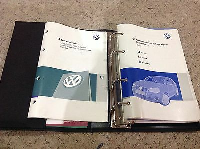 VW POLO HANDBOOK PACK OWNERS MANUAL 2005-2009 and  service book