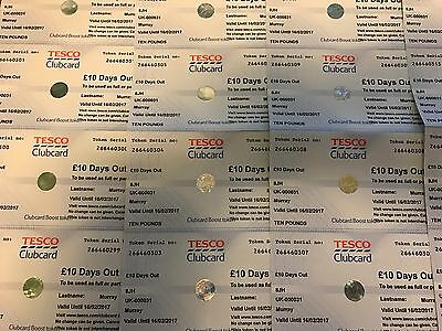 Tesco Clubcard £10 Days Out Vouchers - Converted