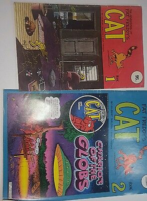 The Adventures of Fat Freddy's Cat Vol's 1 & 2