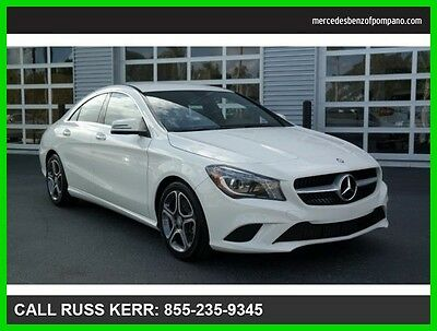 2014 Mercedes-Benz CLA-Class CLA250 Certified Premium Heated Seats SiriusXM 2014 CLA250 Certified  We Finance and assist with Shipping