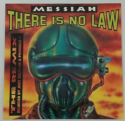 "Messiah ‎– There Is No Law Remixes 12"" Vinyl Old Skool Rave 1992"