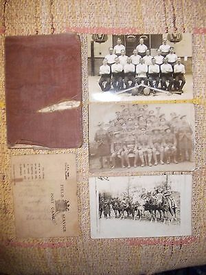 Original WWI ROYAL FIELD ARTILLERY Soldier's PAY BOOK POST/FIELD SERVICE CARDS