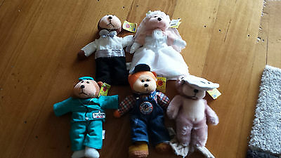 Bulk Lot of Beanie Kids - with tags- including Bride and Groom  -Free Postage
