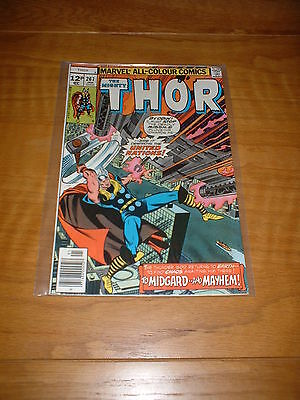 Thor 267, Jan 1978, Pence Copy,  Fn Cond