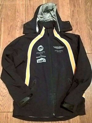 2011 Aston Martin Racing Official Team Issue Raincoat Size S
