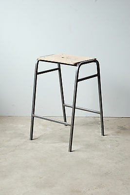 Vintage Remploy Stacking School Lab Stools - Cafe Bar Restaurant - 50 Available