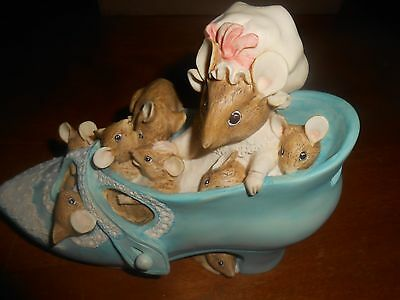 The World of Beatrix Potter Frederick Warne Mouse Mice Bank EUC!