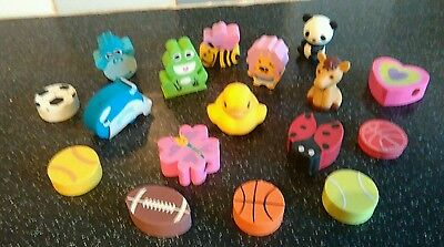 New erasers 17 in total