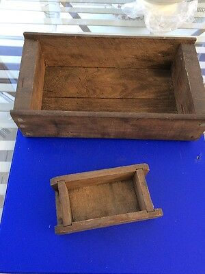 Vintage Basic Wooden Storage Boxes