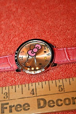 Hello Kitty Watch with Pink Band