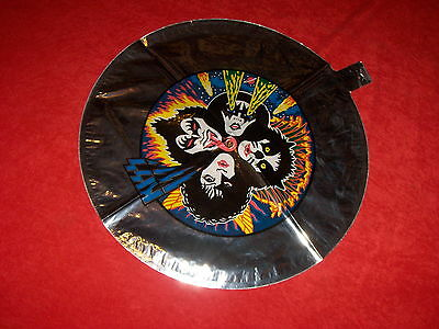 KISS - 1980 AUSSIE Silver Mylar In Concert Balloon  No Vinyl , No Cd , No Aucoin