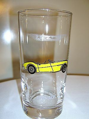 VINTAGE Collector Cars Tumbler AUSTIN HEALEY 100-SIX Libby Safedge Glassware