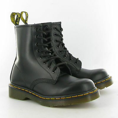 Dr. Martens Boot 8 Lace Up Black New UK Size 10 Doc