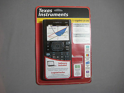 Texas Instruments TI-Nspire CX CAS Graphing Calculator (NEW IN BOX ID#W32001x9)