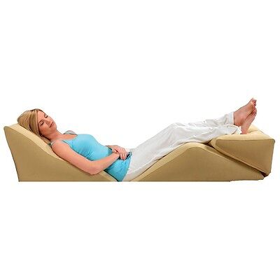 Inflatable BackMax Wedge and Body Cushions - Supports Back, Knees,Legs   Travel