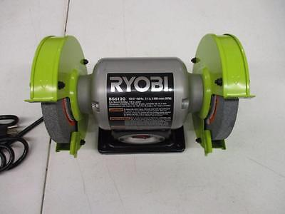 Ryobi 2.1-Amp 6 in. Grinder with LED Lights & Wheel Home Tool Access.. LOT-EE24-