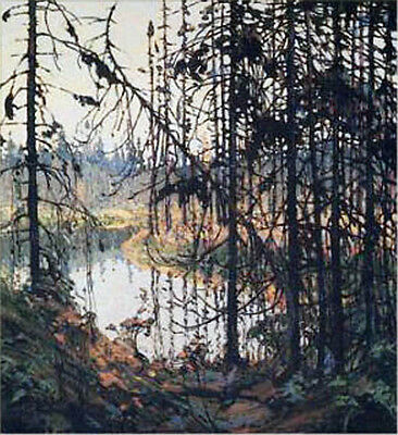 "Group of Seven, Tom Thomson ""Northern River"" Large Print"