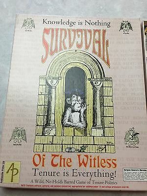SURVIVAL OF THE WITLESS - Avalanche Press - Nice copy!!!
