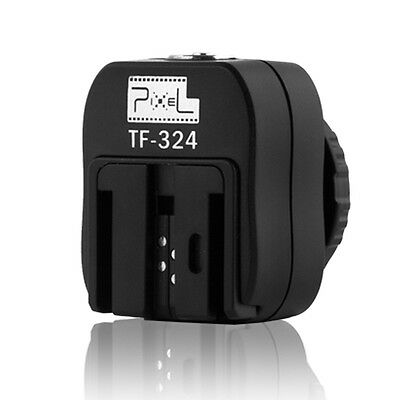 Pixel TF-324 Hot Shoe Converter Adapter for Sony Flash to Canon Nikon