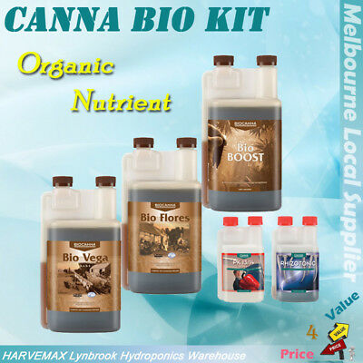 Canna Bio Organic Nutrient Vega Flores Boost Hydroponics Nutrient Fit All Medium