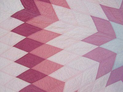 Vintage 1930s Star of Bethlehem Quilt WELL QUILTED