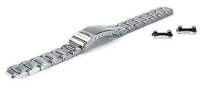 Chris Benz Metal Strap For One Lady 200m 14 mm Silver Ersatzteile