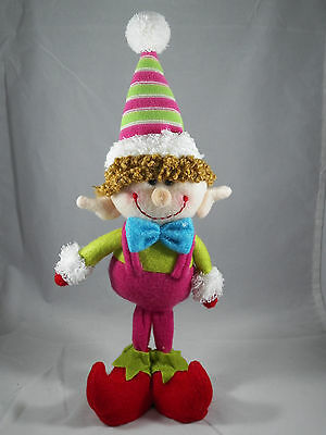 Elf in Pink Jump Suit Christmas Tree Ornament new holiday