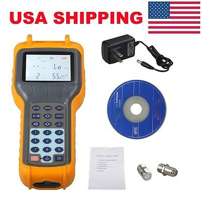 USA Ship Digital RY-S110 CATV Cable Tester TV Signal Level Meter Measurement