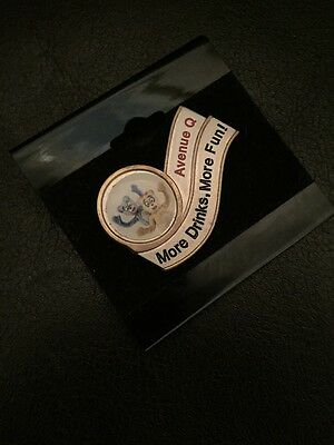 Original and discontinued Avenue Q Lapel Pin from the Musical