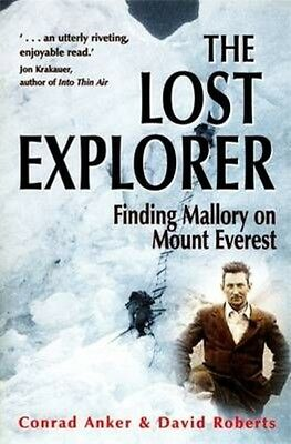 The Lost Explorer by David Roberts Paperback Book
