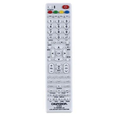 HAIER TV Remote For 3D LCD LED & HD TVs Replacement Control