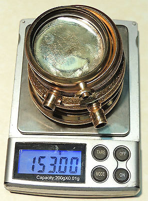 153 Grams Yellow Gold Filled Pocket Watch Cases Parts for Scrap