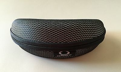 Oakley Vault Sunglasses Clamshell Hard Case Zippered - Grey - NEW!