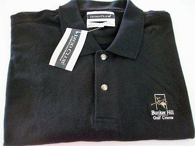 New with hang tags IZOD CLUB golf polo shirt from USA in black - XXXL