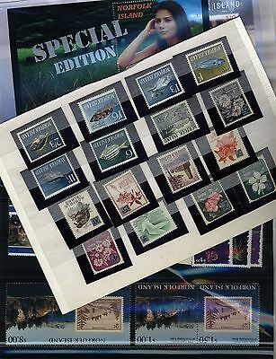 NORFOLK ISLAND stamp Collection - 4 pages