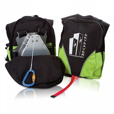 SkySaver 160, Emergency Fire Escape Survival Rescue Backpack - A Life Saver Tool